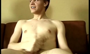 Muscled twink minority masturbation show