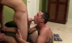 Three hot college studs are sucking eachothers cocks
