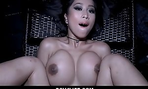 Hot Asian Teen Obstructed Underfed Dipping Fucked By Neighbor POV
