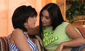 Strapon lesbo forcible discretion teenagers and gmilf oral job!