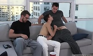 Teen well-pleased emo porn movies coupled with american cute silver daddies naked penis