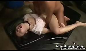 Asian Teen Slave Forced Hard Anal Creampie