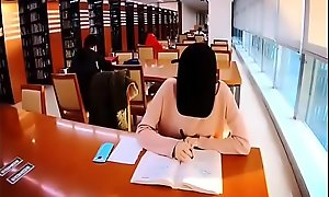Asian teen masturbate in public library - https://asiansister exclusiveteensex.com/