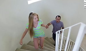 Mexican babe in arms sitter fucks youthful lawful discretion teenager blonde avr...