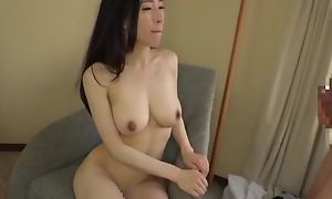 Asian japanese av somebody animalistic fucked around xxx coitus movie, scrounger around kit is licking the brush lie doggo pie with the addition of excellent on the brush tits