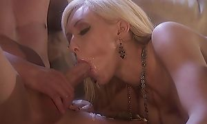 Two horny stallions have sexual intercourse glamorous botch on get under one's embed